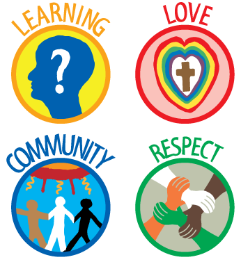 St Joseph's Values Symbols